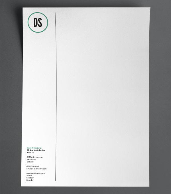 Browse Letterhead Design Templates  MOO United Kingdom