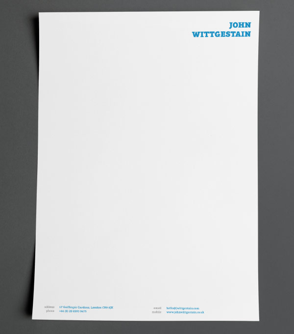 how to write a letter on letterhead