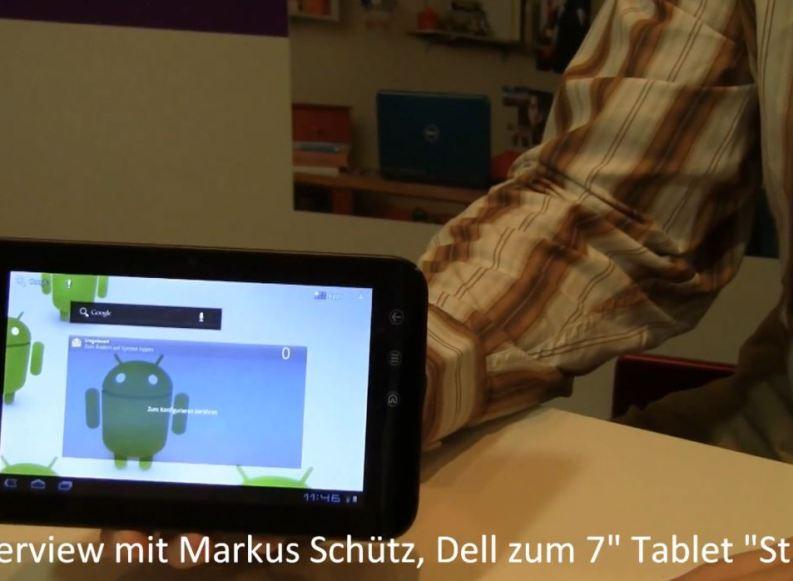 IFA11: Vorstellung des Dell Streak 7 mit Android 3.2