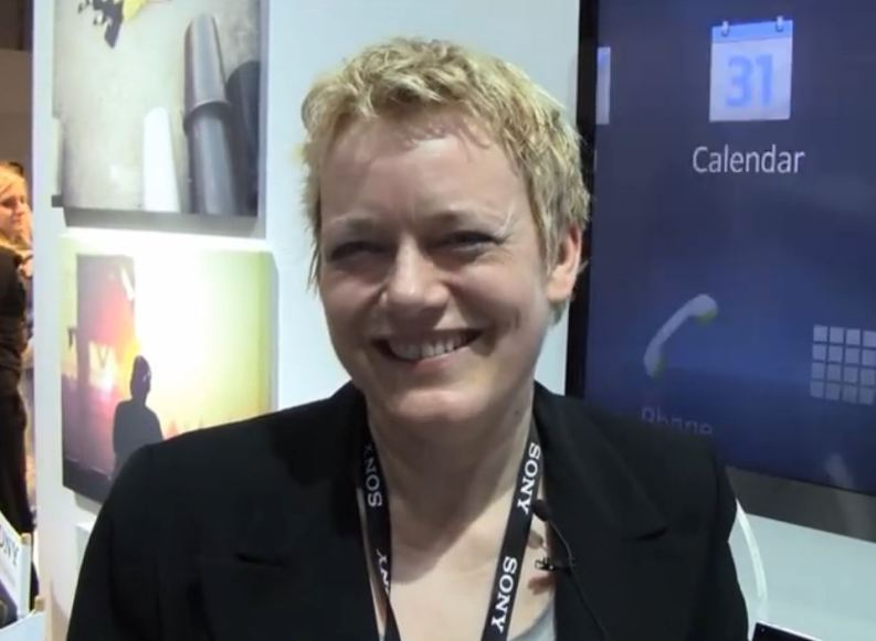 [Video] MWC12: Interview mit Susanne Burgdorf von Sony Mobile Communications