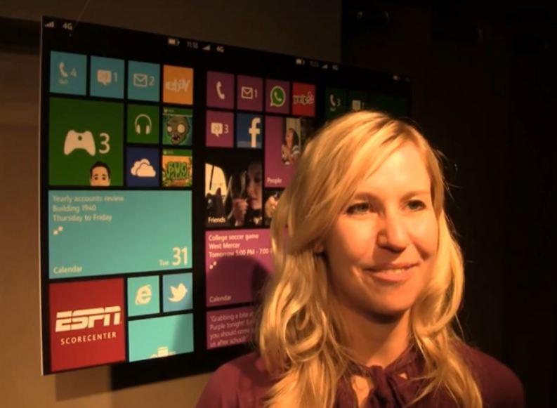 Interview mit Annika Karstadt von Samsung zur Windows Phone 8 Premiere