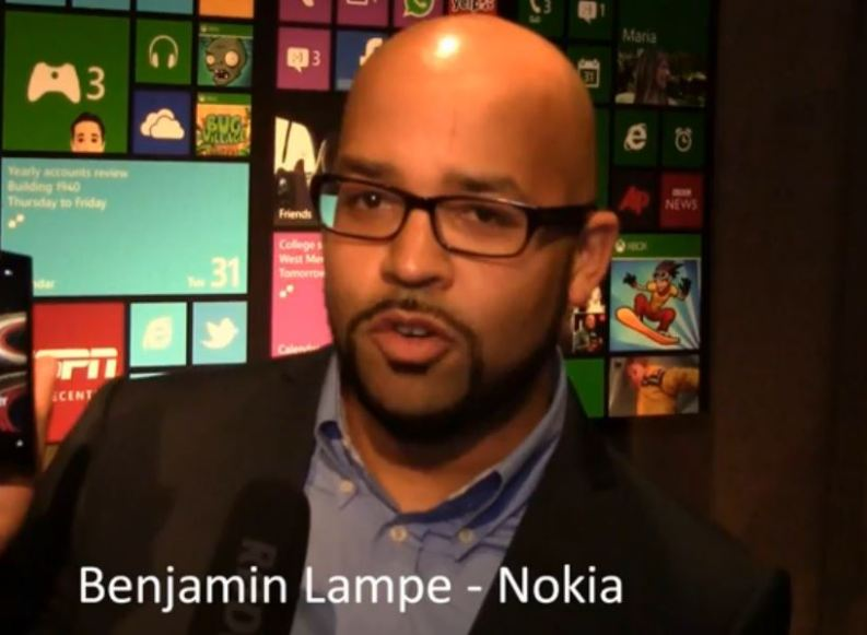 [Video] Interview mit Benjamin Lampe von Nokia zur Windows Phone 8 Premiere