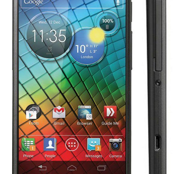 Motorola veröffentlicht Update für Razr i