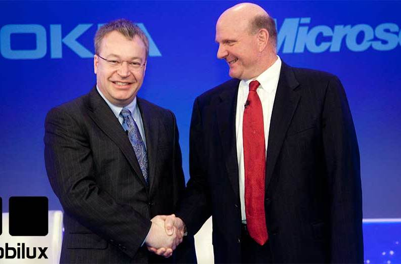 Nokia und Microsoft im Wettstreit