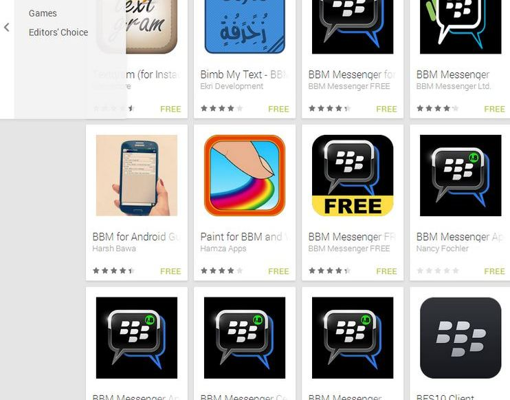 Blackberry stop BBM cross-platform App für Android & iOS