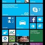 Der neue WP8-Startscreen (Foto: Microsoft)