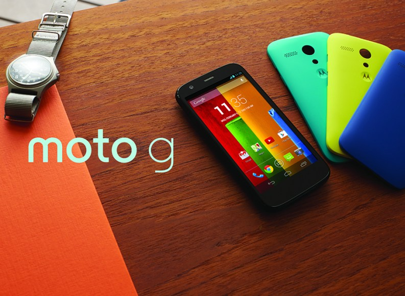 [Video] Handson Motorola Moto G