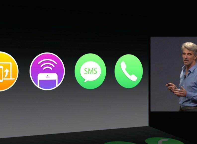 WWDC14: Mac OS X 10.10 Yosemite kann telefonieren