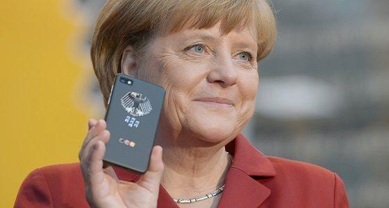 [Video] Vorstellung des neuen Merkel-Phones von Secusmart