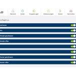 Verwaltung der Regelsteuerung der Devolo Home Control. (Bild: moobilux.com)