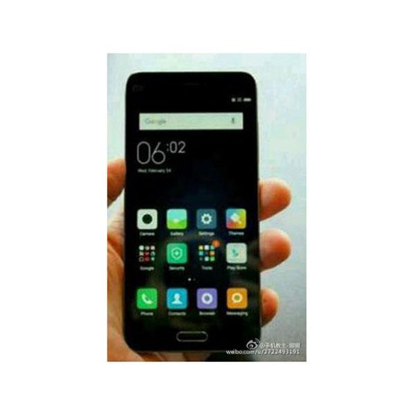 Plant Xiaomi ein Angriff aufs iPhone SE? Viel lässt sich auf dem geleakten Foto nicht erkennen. (Bild: weibo.com)