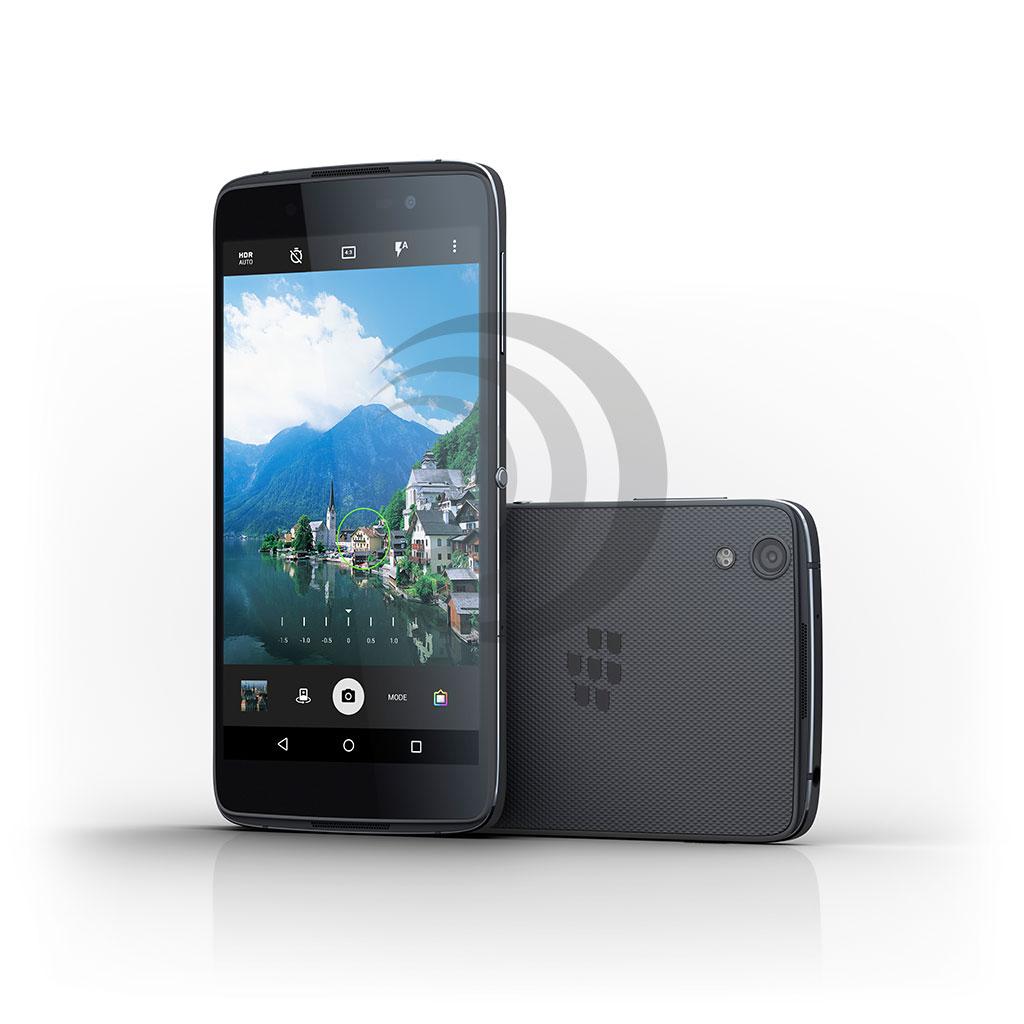 Zweites Android Smartphone BlackBerry DTEK50 vorgestellt. (Foto: BlackBerry)