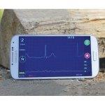 Mit Beat2Phone können Nutzer ihr ECG-Signal erfassen. (Foto: Beat2Phone)