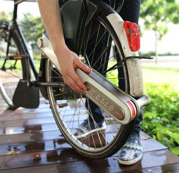 """Nachrüstmodul """"Ease"""" macht Fahrräder zu Pedelecs"""