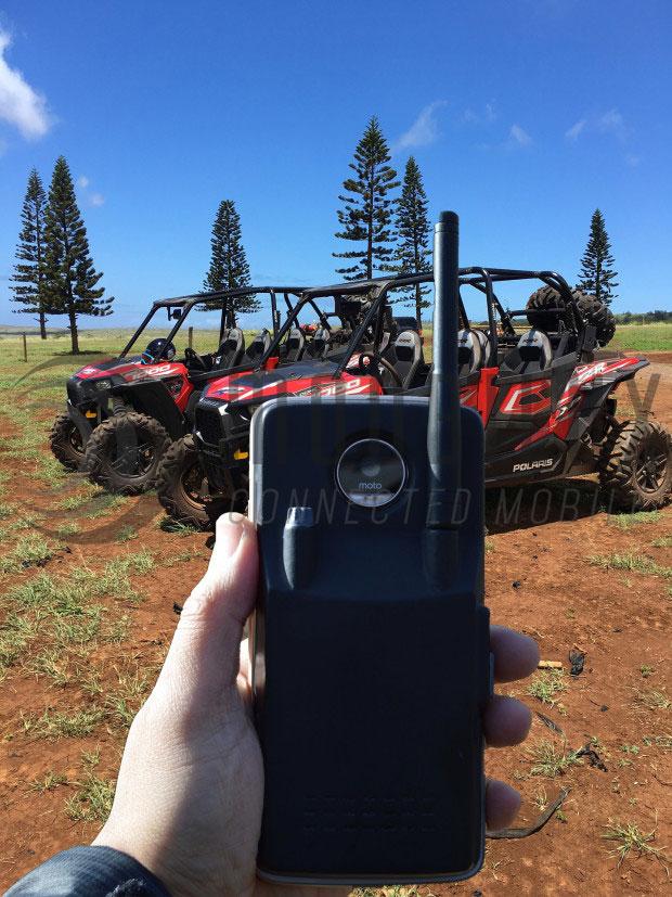 """Das Mod """"Linc"""" macht aus dem Smartphone ein Walkie-Talkie. (Foto: Linc)"""