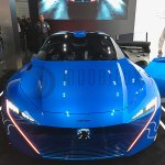 "World premiere of the Peugeot ""Instinct"" self-driving car concept at the Mobile World Congress. 2017. (Foto:moobilux.com/tc)"
