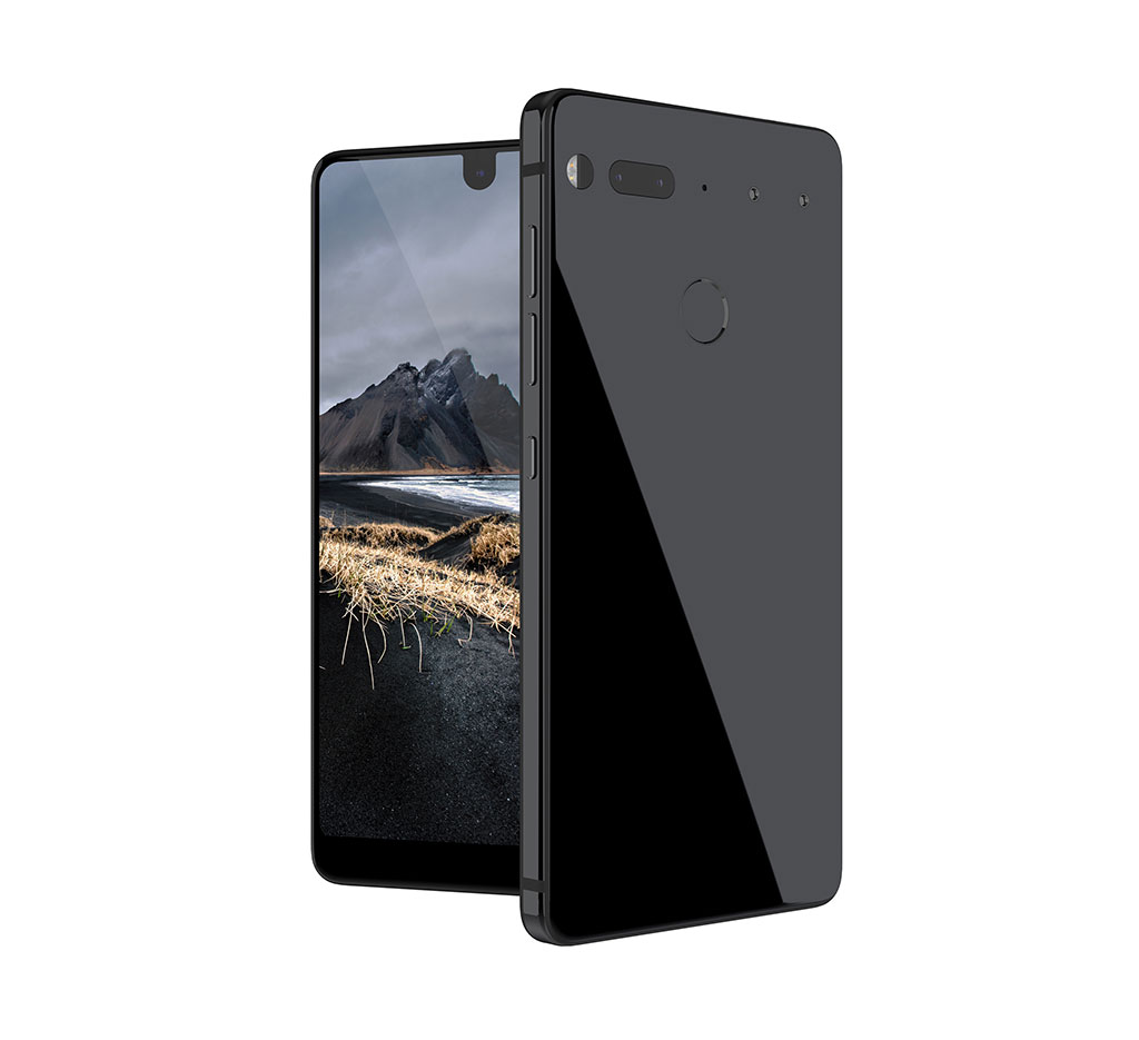 Andy Rubin has officially presented his essential phone. (Picture: Essential)
