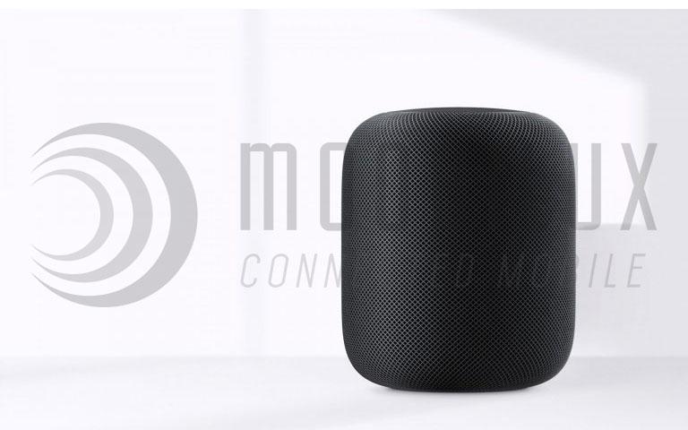 Der HomePod Apples Antwort auf Amazons Echo. (Bild: Apple)