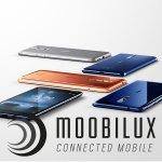 Das Nokia 8 kommt in vier Farben Kupfer, Grau, Blau matt und Blau glänzend auf den Markt. (Bild: Nokia)