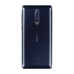 Das Nokia 8 in Polished Blue (Bild: Nokia)