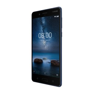 Das Nokia 8 in Polished Blue (Bild: Nokia)