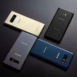 Das Samsung Galaxy Note 8 wird hierzulade nur in den Farben Schwarz und Gold auf den Markt kommen. (Foto: Samsung)