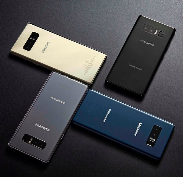 Samsung introduces Galaxy Note 8