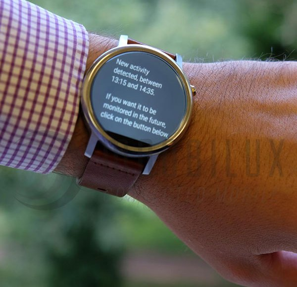 Wearables: Algorithm reacts in real-time