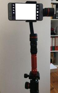 Rollei Profi Smartphone Gimbal (Bild: moobilux.com / TC)