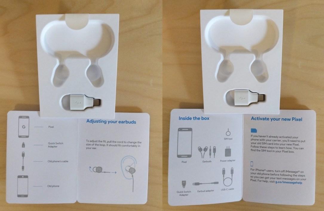 Hier sollten vermutlich ursprünglich Earbuds beiliegen. (Bild: GoogleWatchBlog)