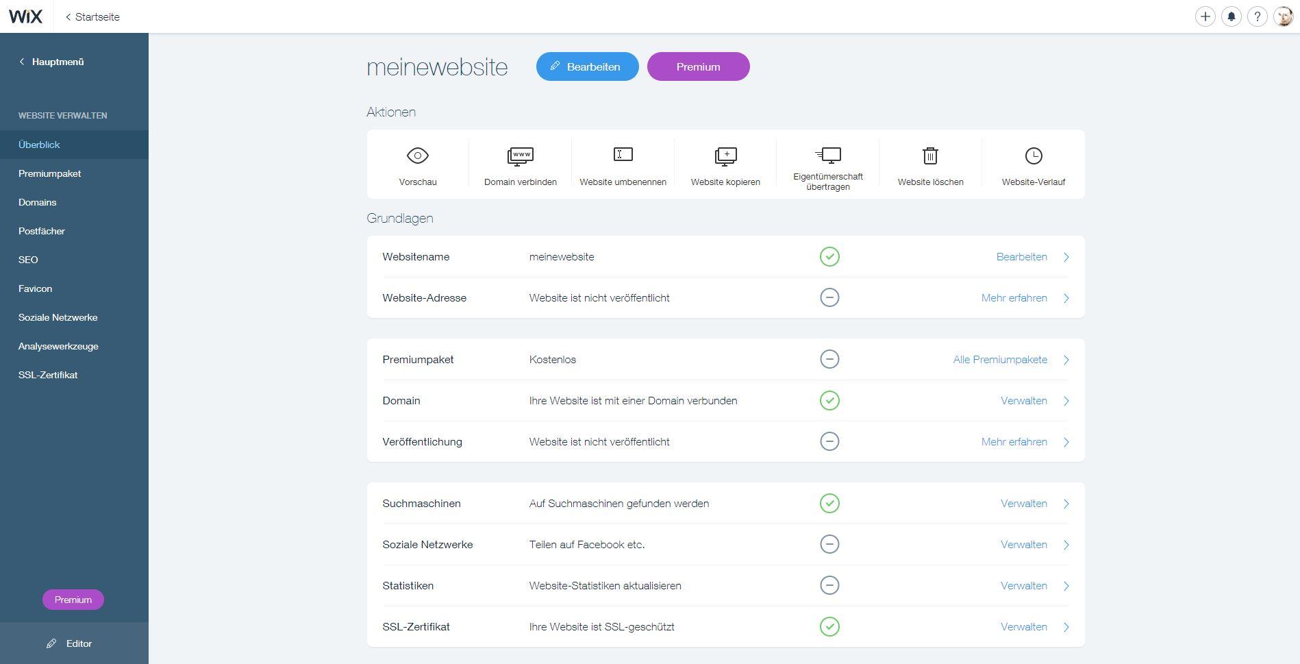 Websites mit Wix bauen und per Smartphone pflegen - moobilux.com