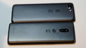 OnePlus 6 vs. OnePlus 5T (Bild: moobilux.com)
