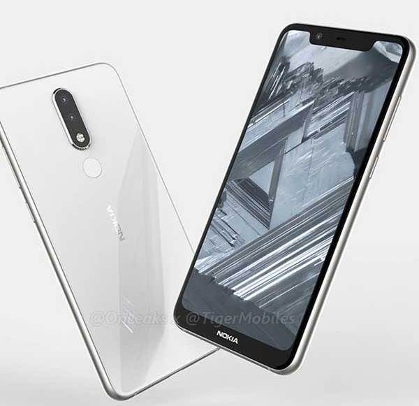 Leak shows possible Nokia 5.1 Plus