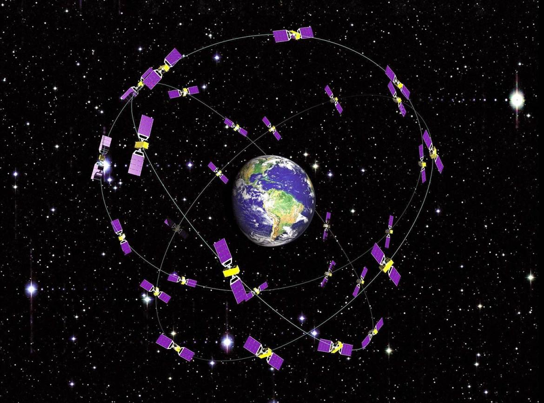 Galileo Satelliten Konstellation. (Bild: DLR)