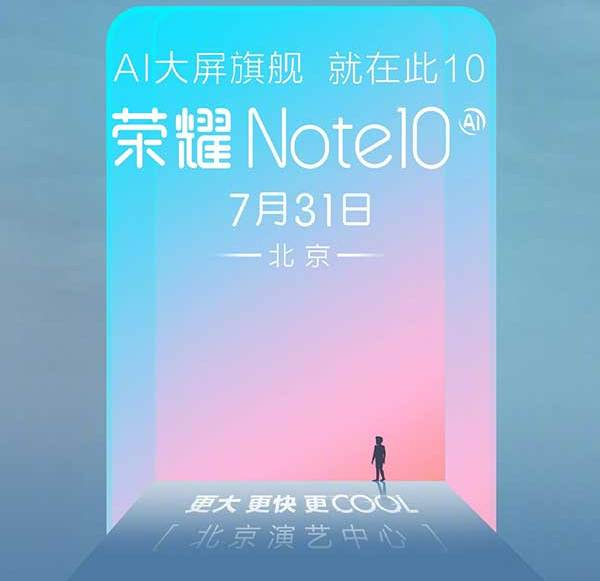 Does Honor present the Honor Note 10 at the IFA 2018 in Berlin?