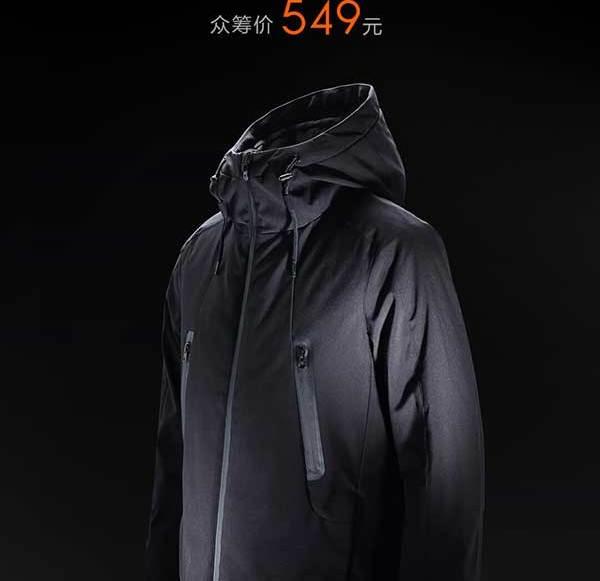 Xiaomi introduces heatable jacket