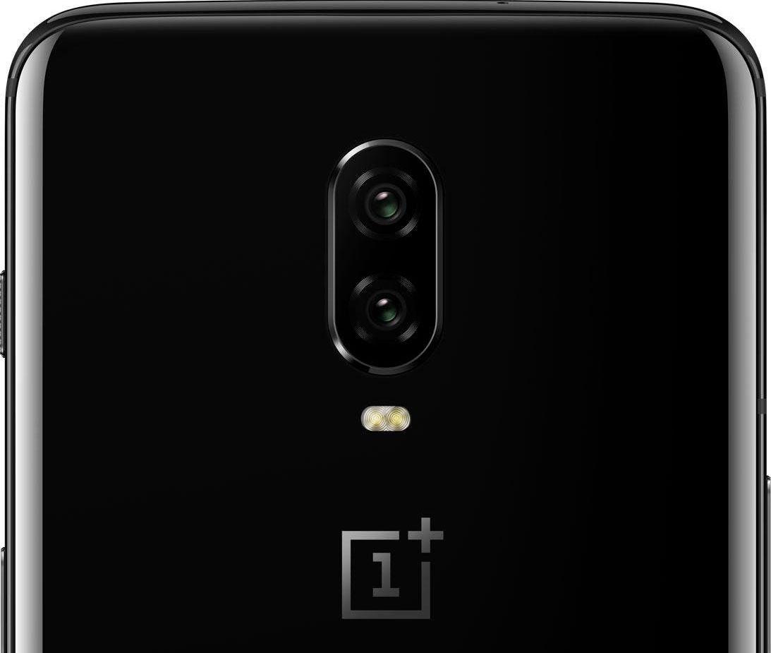 Die rückseitige Hauptkamera des OnePlus 6T ist jetzt ohne Fingerabdrucksensor. (Bild: OnePlus)
