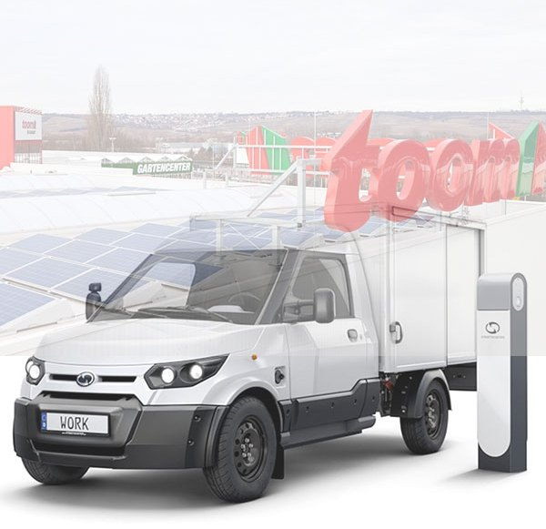 Bosch tests rental of e-vans