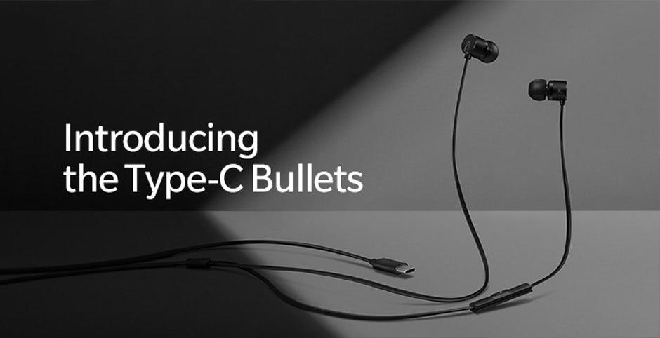 Die OnePlus Bullets mit USB-C-Stecker erscheinen zum Start des OnePlus 6T. (Bild: Oneplus)