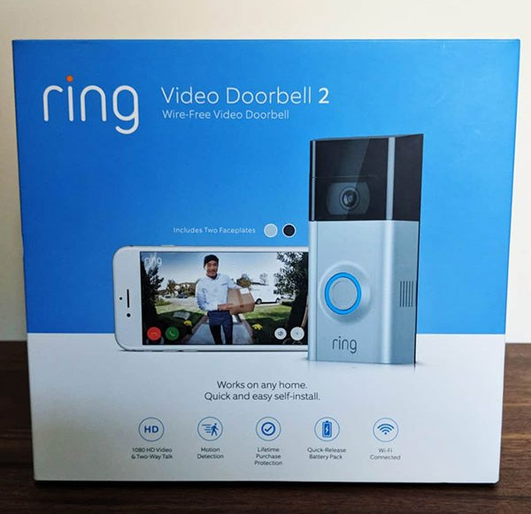 Test: Ring Video Doorbell 2