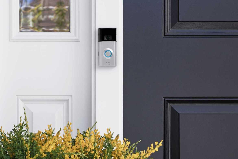 Die Ring Doorbell 2. (Bild: Ring)