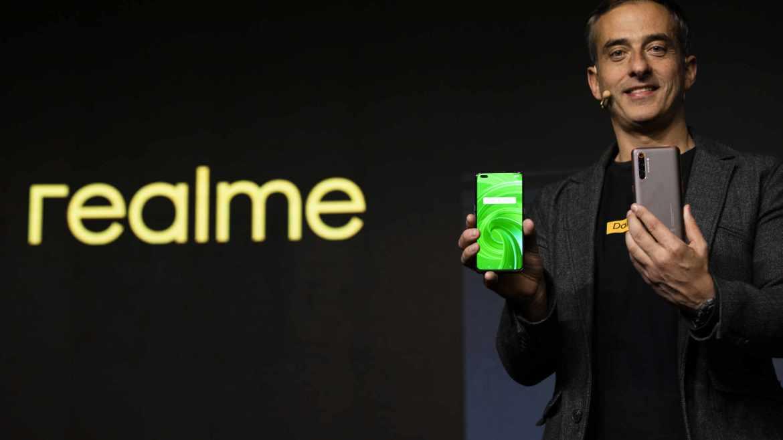 Vorstellung des Realme X50 Pro 5G. (Bild: Realme)