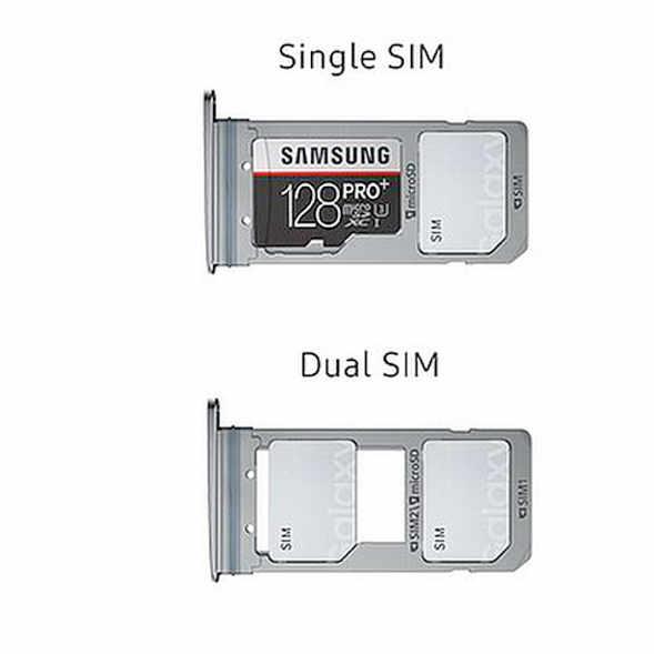 Das hybride SIM-Fach kann bis zu zwei Nano-SIM-Karten oder eine Nano-SIM-Karte und eine MicroSD-Karte aufnehmen. (Bild: moobilux.com)