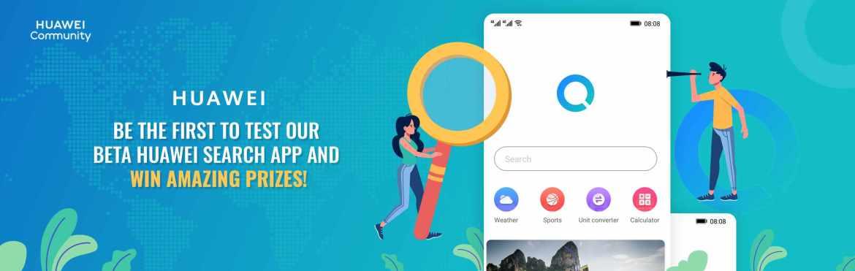 Huawei greift Ex-Partner Google mit eigener Such-App an. (Bild: Huawei Community)
