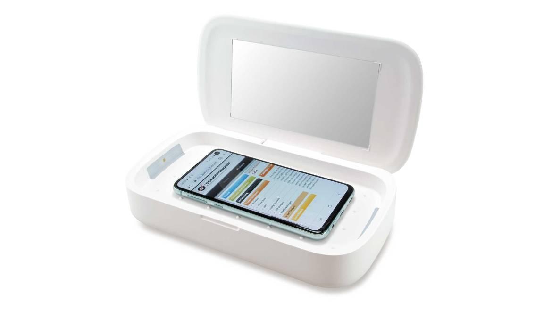 Die CIRO01WC UV-Box soll 99,99 % der Keime ohne Chemie abtöten. (Bild: Conceptronic)