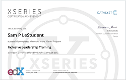 EdX MicroMasters, XSeries & Professional Certificate