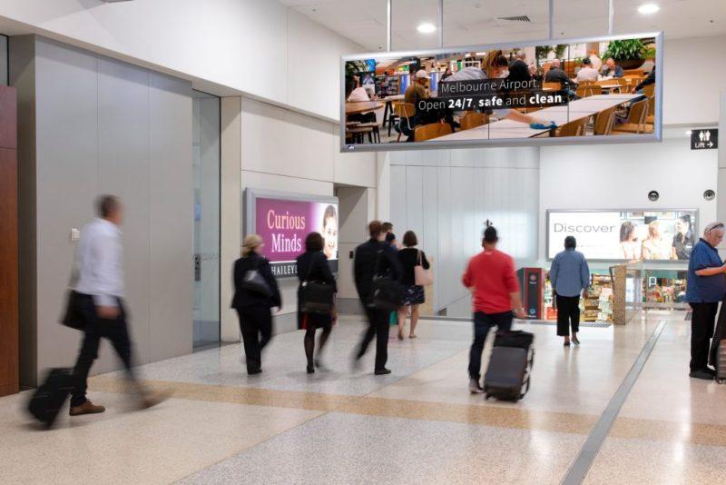 OOH Melbourne Airport Digital