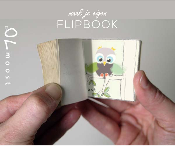 Maak je eigen flipboekje  MoodKids