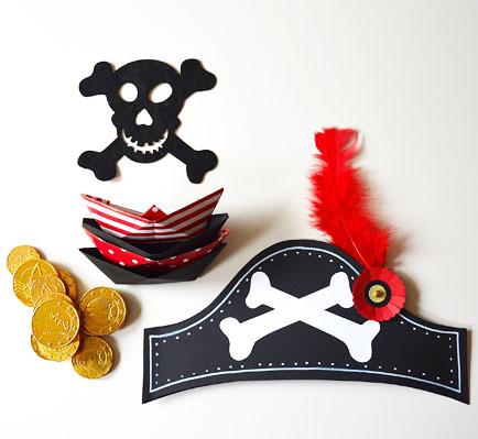 Maak je eigen piratenhoed  MoodKids