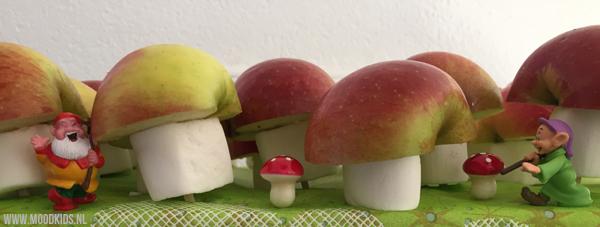 Snel een traktatie met appel maken doe je zo